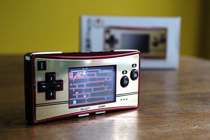 FAMICON gameboy micro