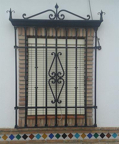 M s de 25 ideas incre bles sobre rejas en hierro forjado - Rejas de diseno moderno ...