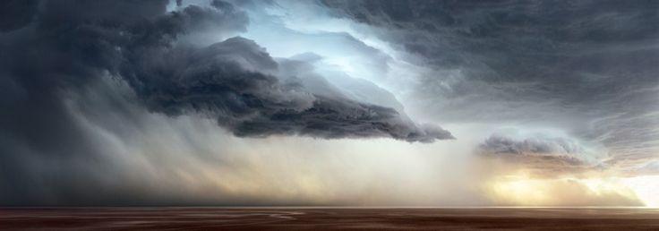 Lake Eyre, Australia ... Wow...