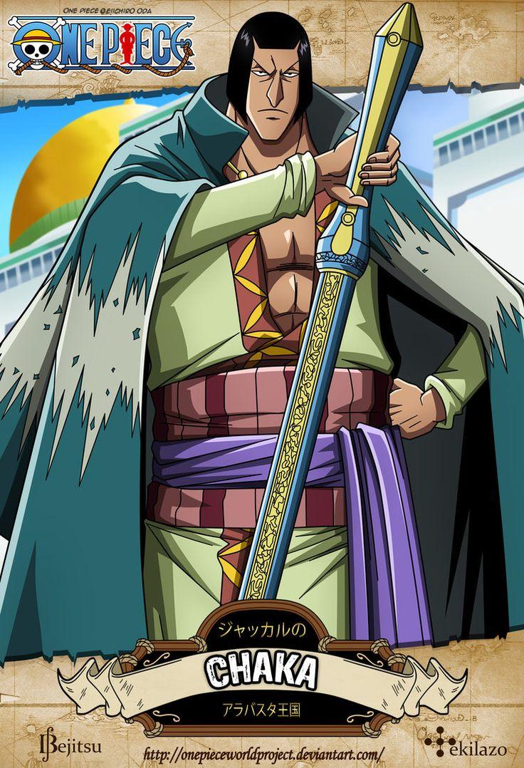 One Piece - Chaka by OnePieceWorldProject