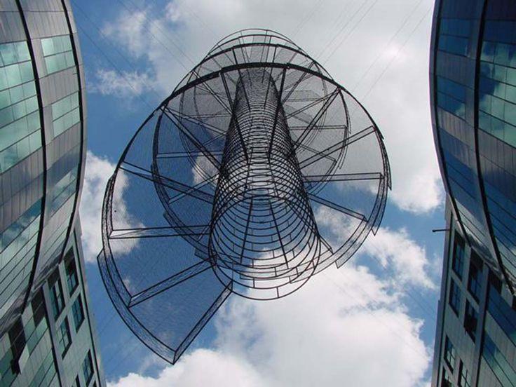 Neil Dawson's Suspended Sculptures: Vanishing Stairs7.jpg