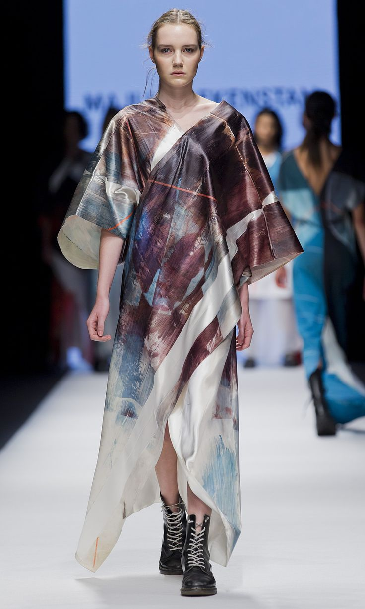 Stockholm fashion week 2014. BA exam work from the Swedish school of textiles 2014.  Photos by Kristian Löveborg