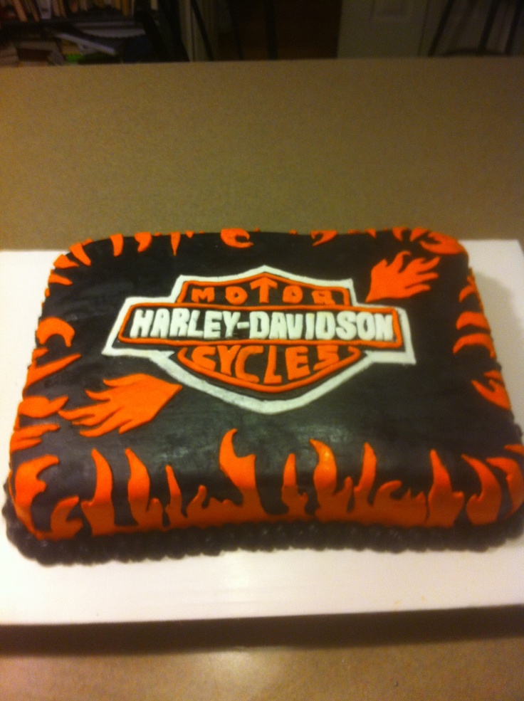 Edible Cake Images Harley Davidson : Liczba najlepszych obrazow na temat: Harley Davidson Cakes ...