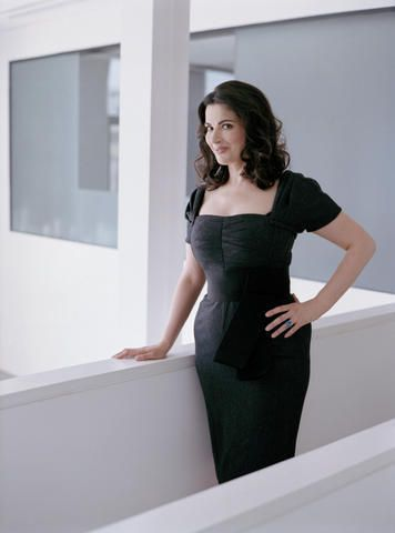 "Nigella Lawson - The Brits do it right. Proud of her curves and ok with showing her love for ""bad"" food."
