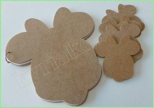 Ξυλινα διακοσμητικα βαπτισης με θεμα minnie mouse. Διακοσμητικα μπομπονιερας 8 χ 10 , και βιβλιο ευχων με 15φυλλα 160γραμ διαστασης 15χ20. Καταλληλο για ζωγραφικη , decoupage και αλλες τεχνικες. #MDF #wooden #handmade #minnie #decoupage #painting #crafting #ξυλινα #διακοσμητικα #Βαπτιση #βιβλιο #χειροποιητα