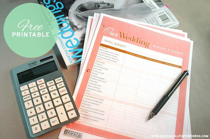 これは、すべての新しい花嫁が結婚式の予算プランナーの夢です...それは完全に無料です! ただtheeditableがコンピュータ上のファイルをエクセルダウンロードして印刷または設定します。
