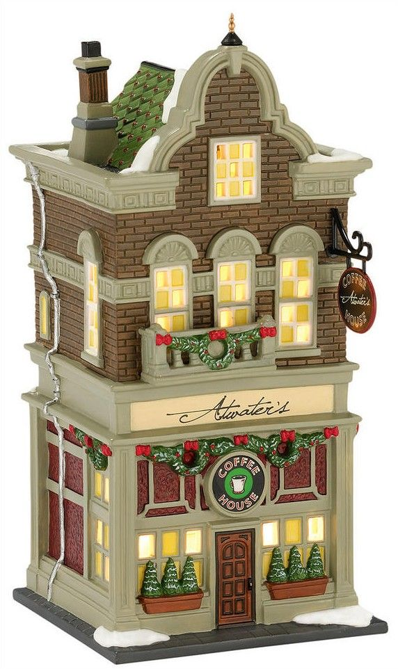 lemax christmas village houses - Google Search