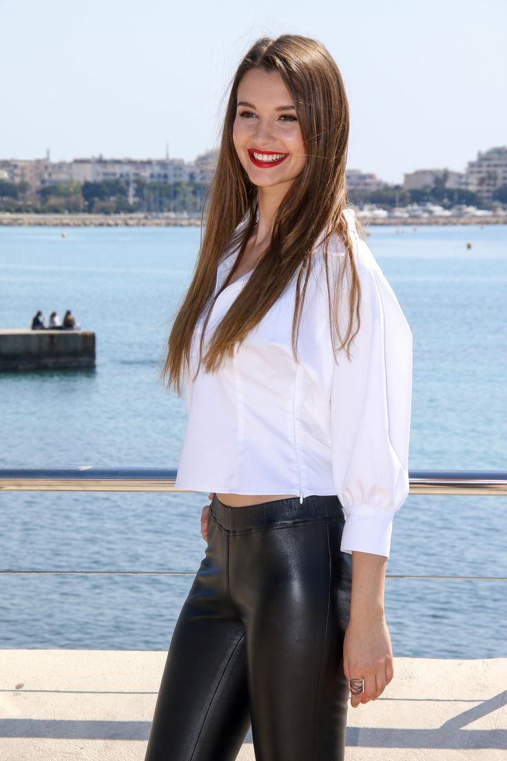 Leyla Lydia Tugutlu attends Photocall HEART OF THE CITY