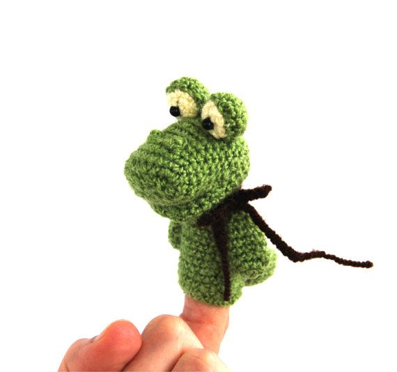 $21.56 #amigurumi #alligator #puppet, #crocodile #finger #puppet, #pretend #play #puppet, #crochet #crocodile #toy #for #toddlers, #funny #puppet, #naturelly #toy