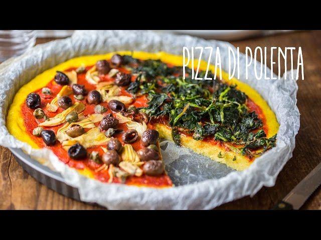 La pizza di polenta è un piatto sostanzioso e sfizioso allo stesso tempo che può fare sia da piatto unico che da simpatico antipasto