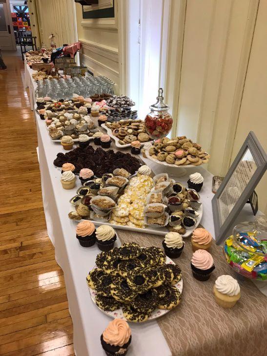 Kyleen & Jay |  Historic Wedding | Pittsburgh Wedding | Grand Ballroom | Chef & I Catering | DJ Nugget |  Oakmont Bakery | | Bride & Groom | I do | Pittsburgh Cookie Table |