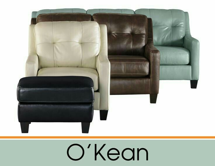Brand New Modern Top Grain Leather Living room furnoture by Ashley Furniture just arrived at Quality Bedding and Furniture in Orange Park. Quality Bedding and Furniture strives to be your go to furniture store in Orange Park. #ashleyfurniture #topgrainleather #modernfurniture www.qualitybeddingfurniture.com