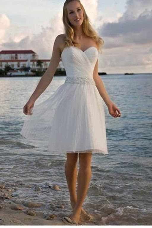 Cotton Beach Wedding Dresses