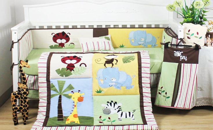 https://flic.kr/p/NL8hw4 | Baby Boy 8 pieces Safari Animal Cot Bedding Set by All 4 Kids | This is a beautiful Flower design baby cot bedding set for Aussie bub, made of 100% comfortable cotton material. This beautiful print will make your little one's room stand out. perfect gift idea for a new-born baby. Let your little one sleep soundly in this beautiful 5 pcs cot bedding set. Made from 100% quality cotton and featuring playful designs, this bedding set will give your bub the best chance…