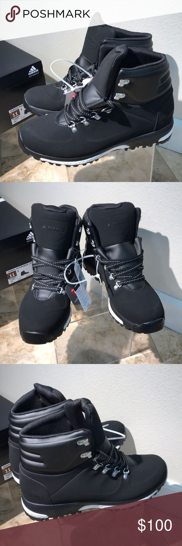 Adidas terrex pathmaker stealth boost energy 11 Adidas men's sneakers / hiker hiking boots size 11 men's black shoes new in box stealth adidas Shoes