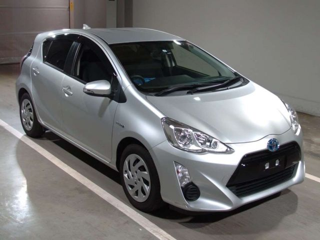Toyota Aqua 2014 Silver Nhp10 At 1500cc 29000 Excellent Condition Genuine Mileage Best Price Right Hand Drive Car Pic Japanese Used Cars Toyota Used Cars