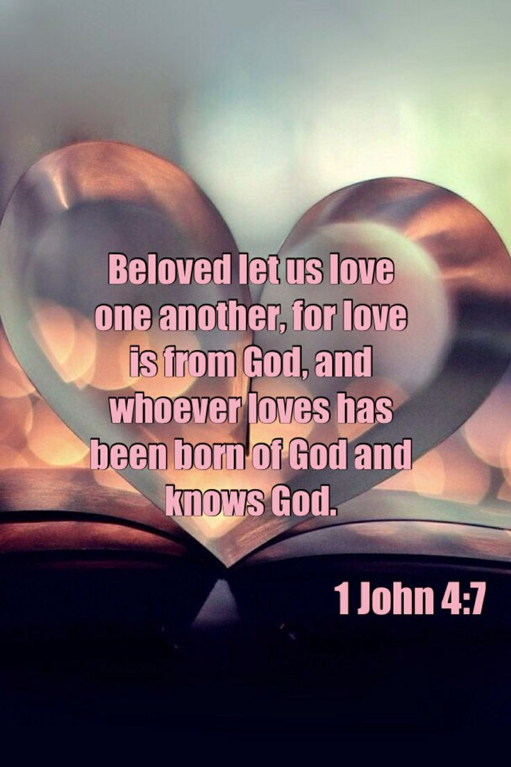 Image result for beloved let us love one another