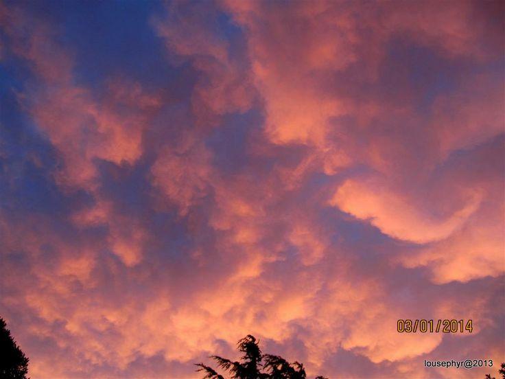 Storm in Sky Napier