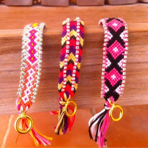 Friendship bracelets for summer! https://www.facebook.com/LoVeAffaiRss