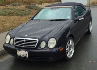 2002 MERCEDES CLK 430 CONVERTIBLE 119.000 MILES, PASSED SMOG, CLEAN NICE CAR, VIN WDBLK70G42T102995, CLEAN TITLE.