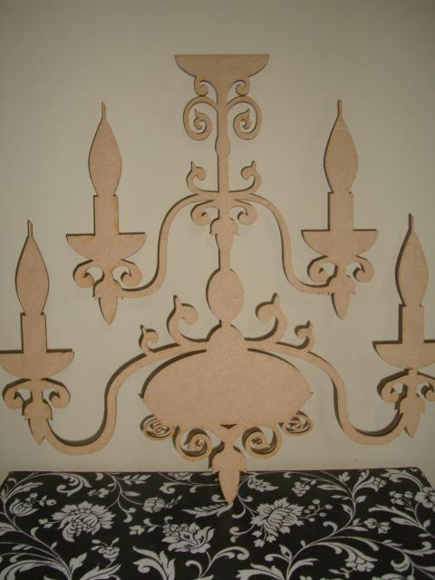 Lamparas en madera para decorar
