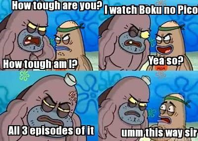 Have you watched Boku no Pico?