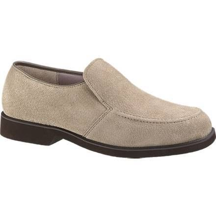HUSH PUPPIES Mens Earl Shoes Loafers Taupe Suede H10922
