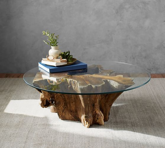 Driftwood Coffee Table | Beach Home Furniture l www.DreamBuildersOBX.com