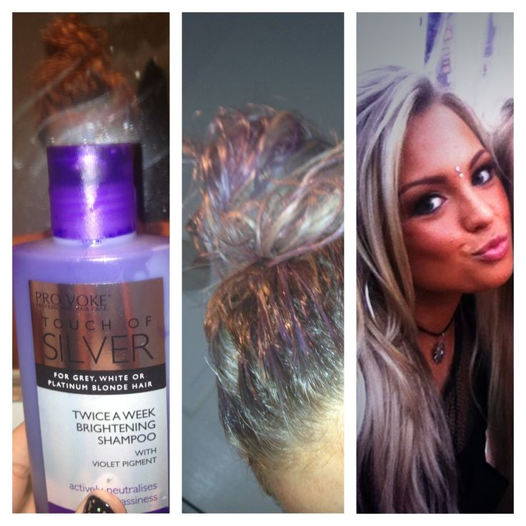 For my platinum blonde look.. I used to use strictly l'oreal  products untill I used this.. It's cheap and it does the trick! £1.99 from local beauty stores!  1. Squeeze into hand  2. Smooth over dry hair untill covered  3. Do not lather  4. leave for 10mins!  5. Rinse thoroughly and Wash as normal  :) No more brass!