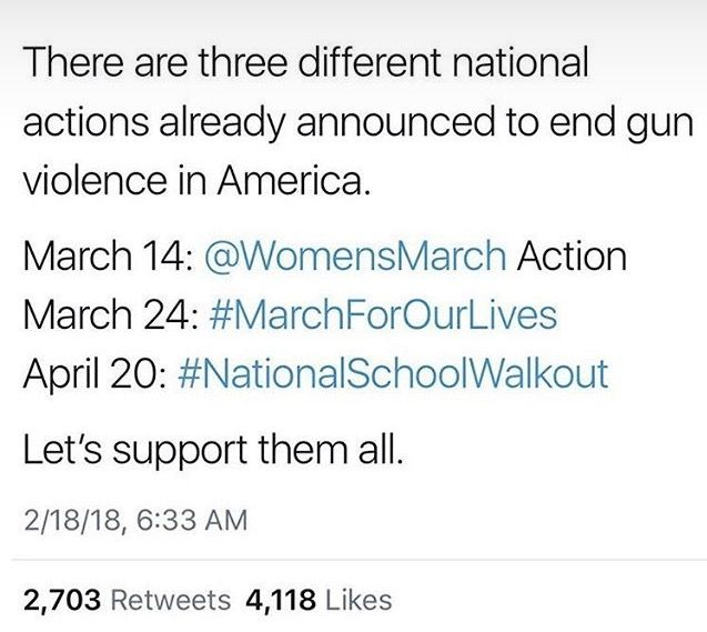 i live near march for our lives and i might go