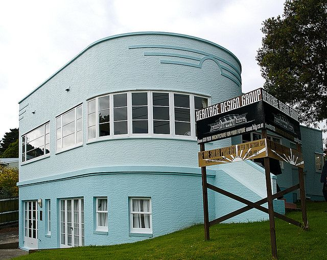Art Deco House, Auckland | Flickr - Photo Sharing!