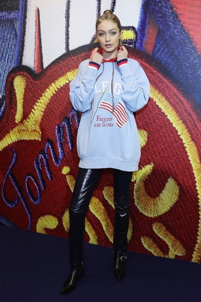 Gigi Hadid at the Tommy X Gigi Spring 2017 Collection - PFW Fall 2017: The Can't-Miss Celeb Looks from the FROW - Photos