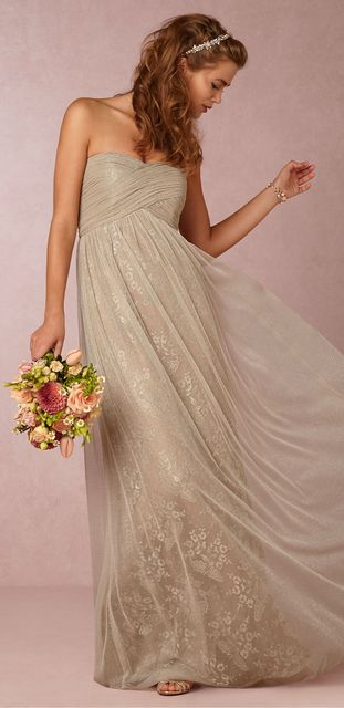 wedding reception dress for bride bhldn serenity by donna donna serenity 9894