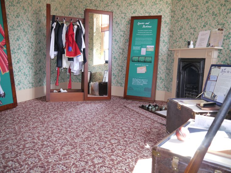 The Nursery Suite at Audley End House, Essex - carpet design from Brintons archive