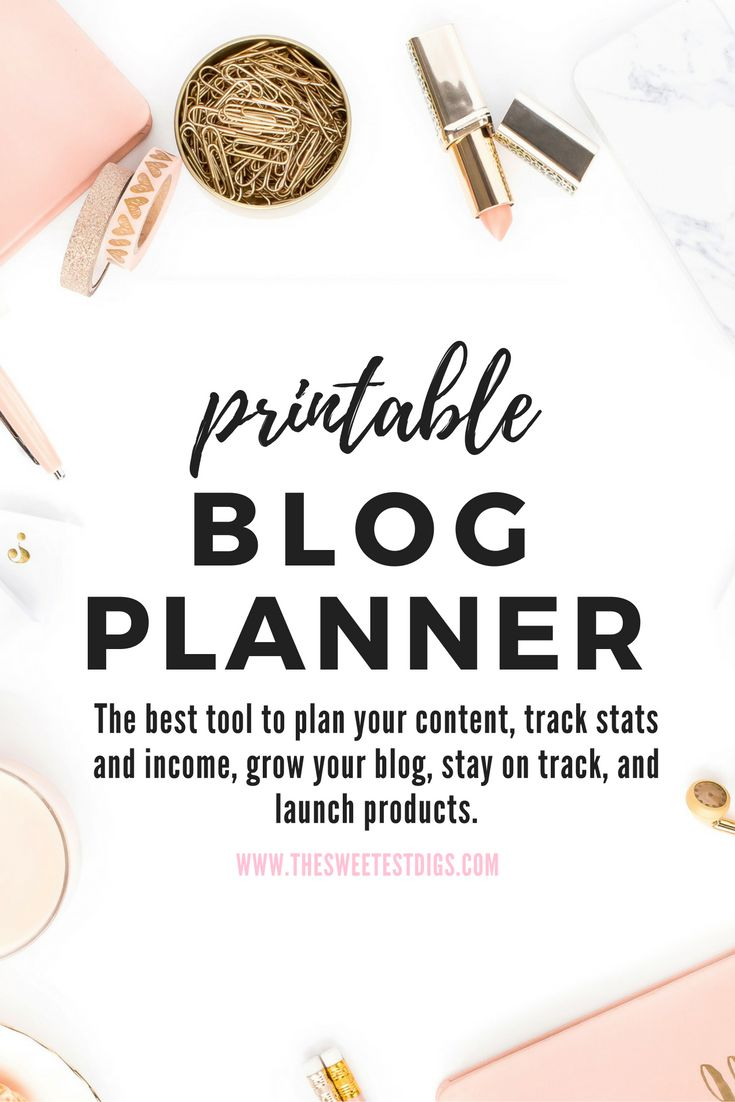 This #printable #blog #planner that will keep you organized, your content on track, and help you grow. It has helpful tips and blog growth strategies to use along the way. Plus, it's insanely pretty and even includes 3 free art printables! Comes with a date-less editorial calendar, goal setting sheets, blog audit tool, and over 15 other sheets. Click through to grab your copy.