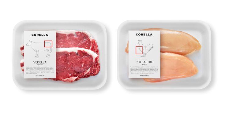 Case: CORELLA Package 総合スーパーがこれだけ広まっている今なお、「お肉はやっぱり専門店(お肉屋さん)で買うのが一番」と言われることはさして珍しいことではありません。  町の