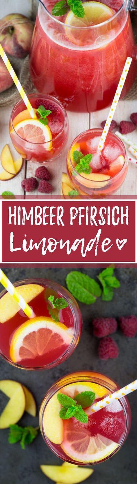 Selbstgemachte Limonade mit der Tescoma-Zitronenpresse  – Getränke