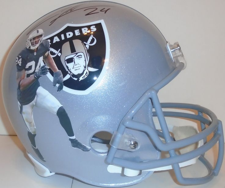 Charles Woodson signed Oakland Raiders Riddell full size football helmet w/ proof photo.  Proof photo of Charles signing will be included with your purchase along with a COA issued from Southwestconnection-Memorabilia, guaranteeing the item to pass authentication services from PSA/DNA or JSA. Free USPS shipping. www.AutographedwithProof.com is your one stop for autographed collectibles from Michigan Wolverines & NCAA sports teams. Check back with us often, as we are always obtaining new…