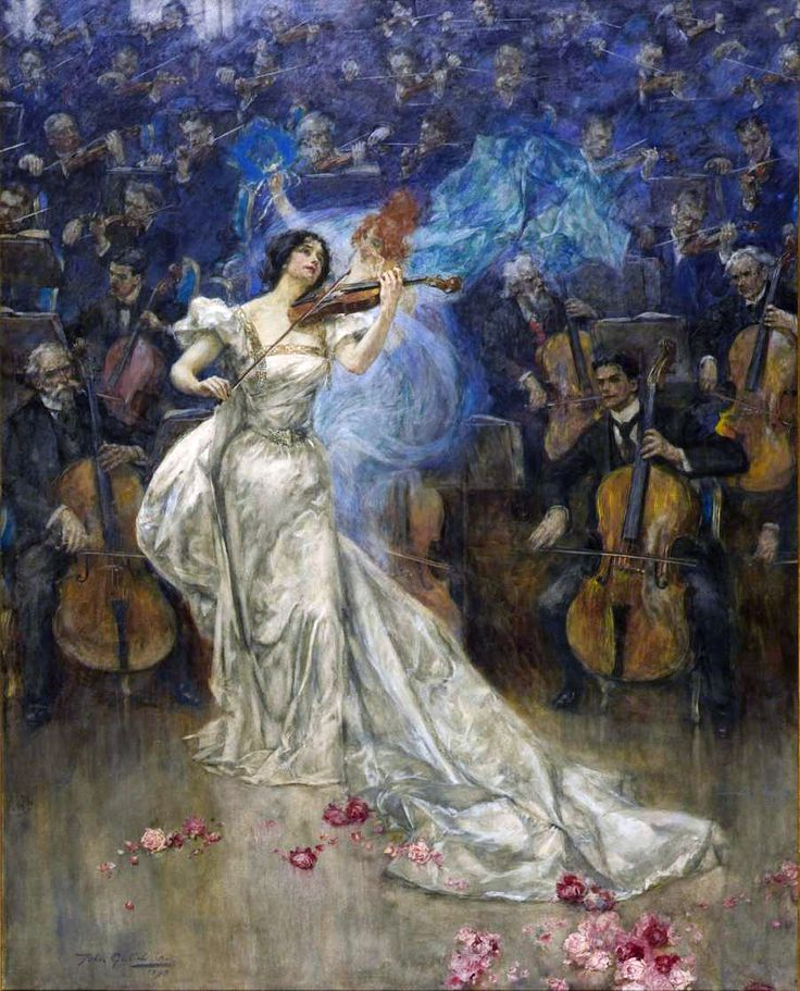John Gulich (English, 1864-1898). A Violin Concerto, 1898. Tate