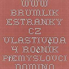 www.brumlik.estranky.cz - Vlastivěda - 4.ročník - Přemyslovci - domino