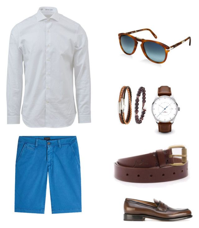 """Без названия #7"" by hyzirt on Polyvore featuring Baldessarini, Salvatore Ferragamo, Edwin, Mikia, Caputo & Co., Persol, men's fashion и menswear"