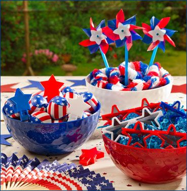 4th of July birthday party favors - Google Search