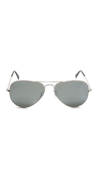 Ray-Ban Aviator Silver Mirrored