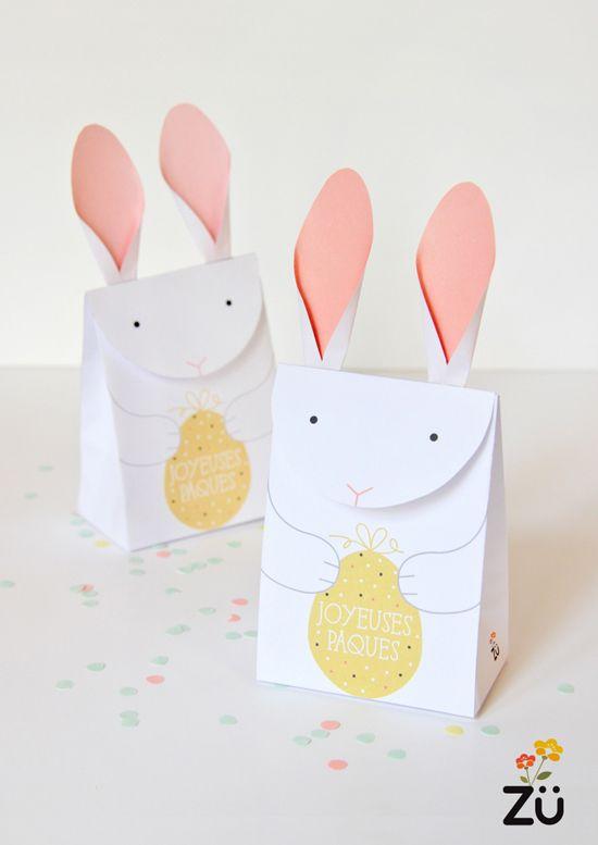 Les petits oeufs au chocolat arrivent bientôt, et quoi de mieux que la 'BunnyHouse'   à faire soi-même pour les cacher dans le jardin ou la...
