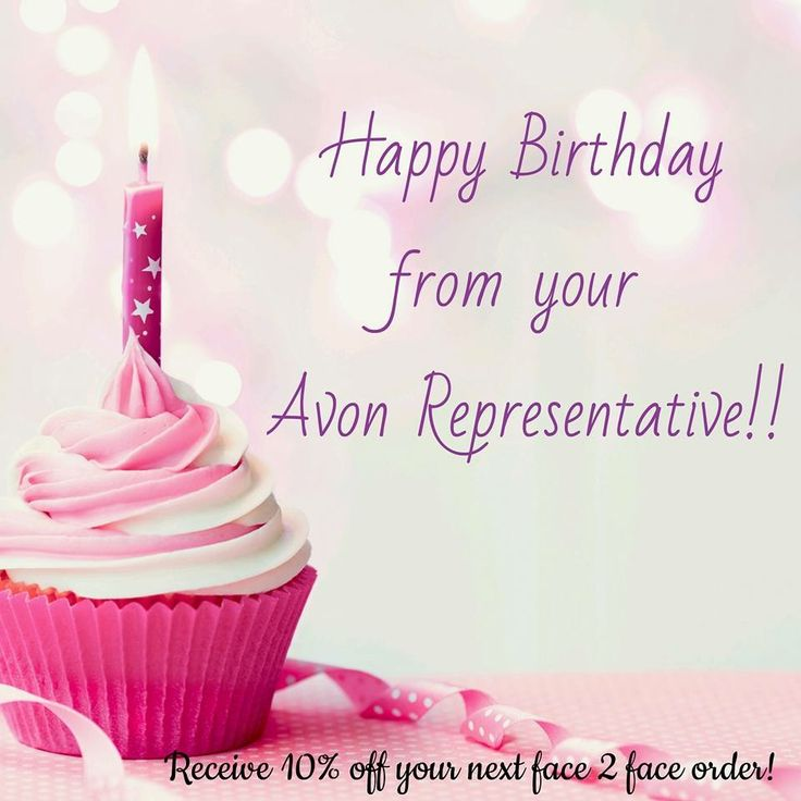 Happy Birthday for Facebook posts. Www.youravon.com/rmahurin