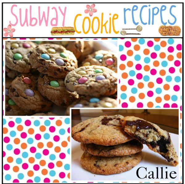 """""""Subway Cookie Recipes!"""" by amazingtipgirls ❤ liked on Polyvore"""