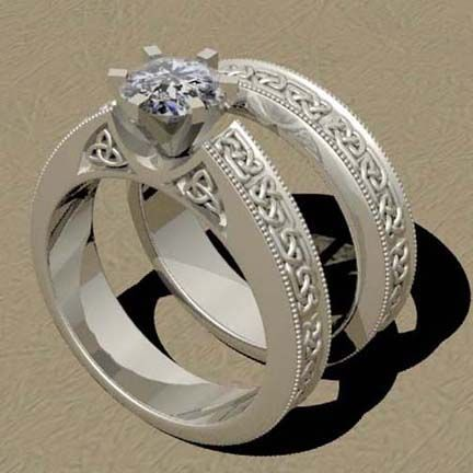 image detail for celtic wedding rings celtic wedding ring sets - Pagan Wedding Rings