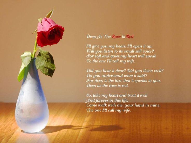 Short Love Poem Him   someone somewhere loves you i will ...