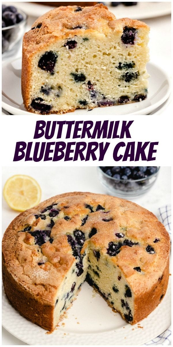Buttermilk Blueberry Cake Recipe In 2020 Blueberry Cake Recipes Blueberry Cake Baking