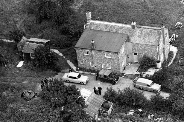Leatherslade Farm at Oakley Buckinghamshire, where the Great Train Robbers hid